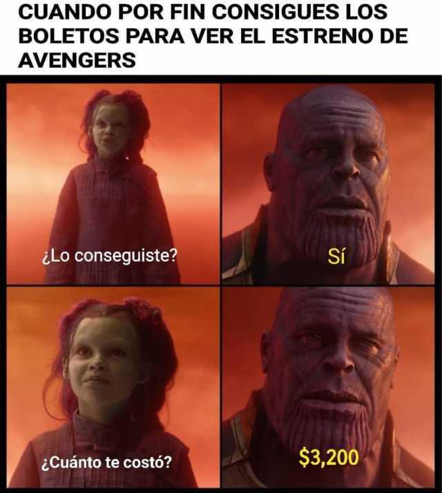 Cuando una película causa estrés, solo Avengers puede ser ...